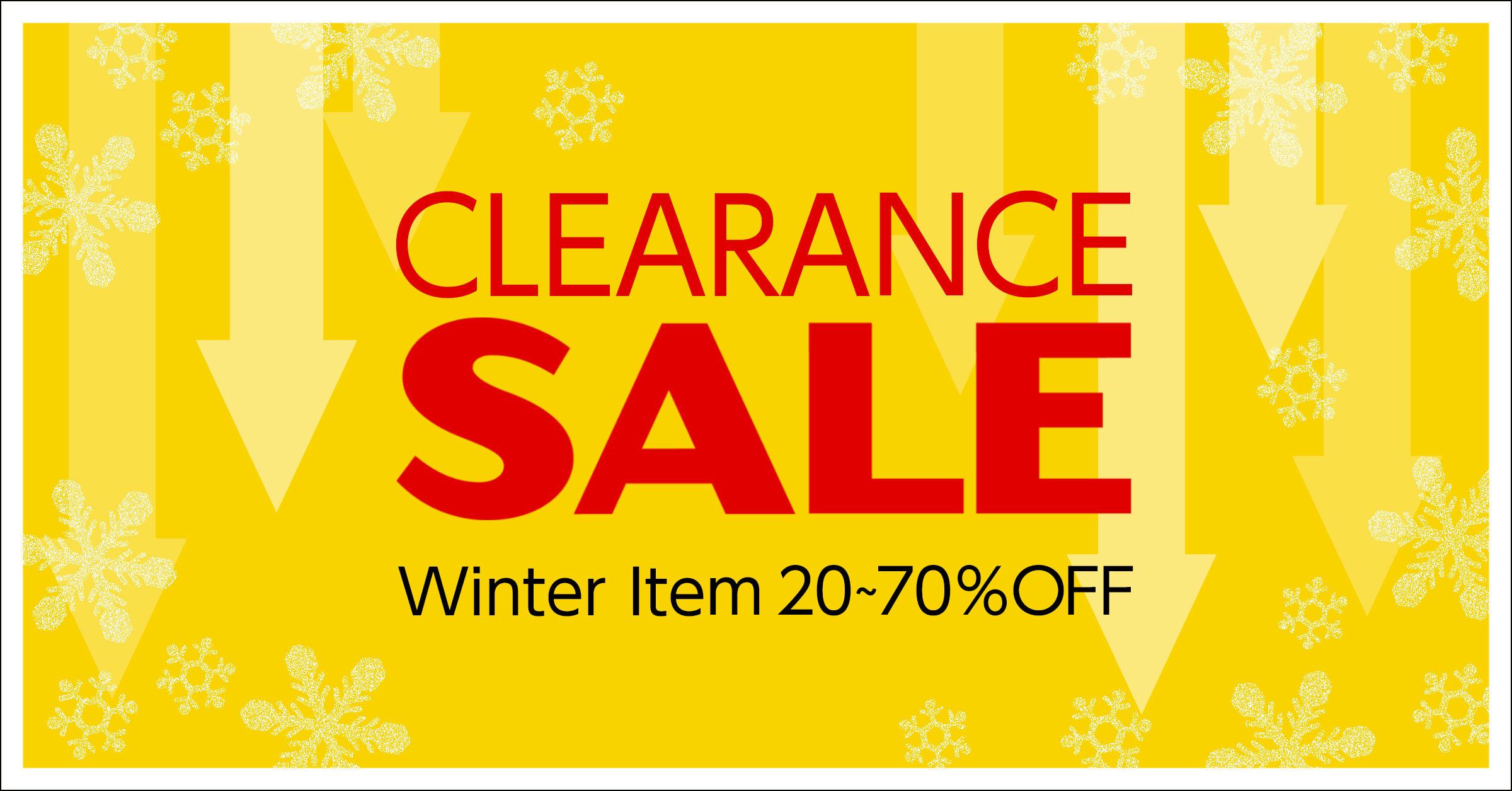 タカキューオンラインショップクリアランスセール 冬物商品20~70% OFF