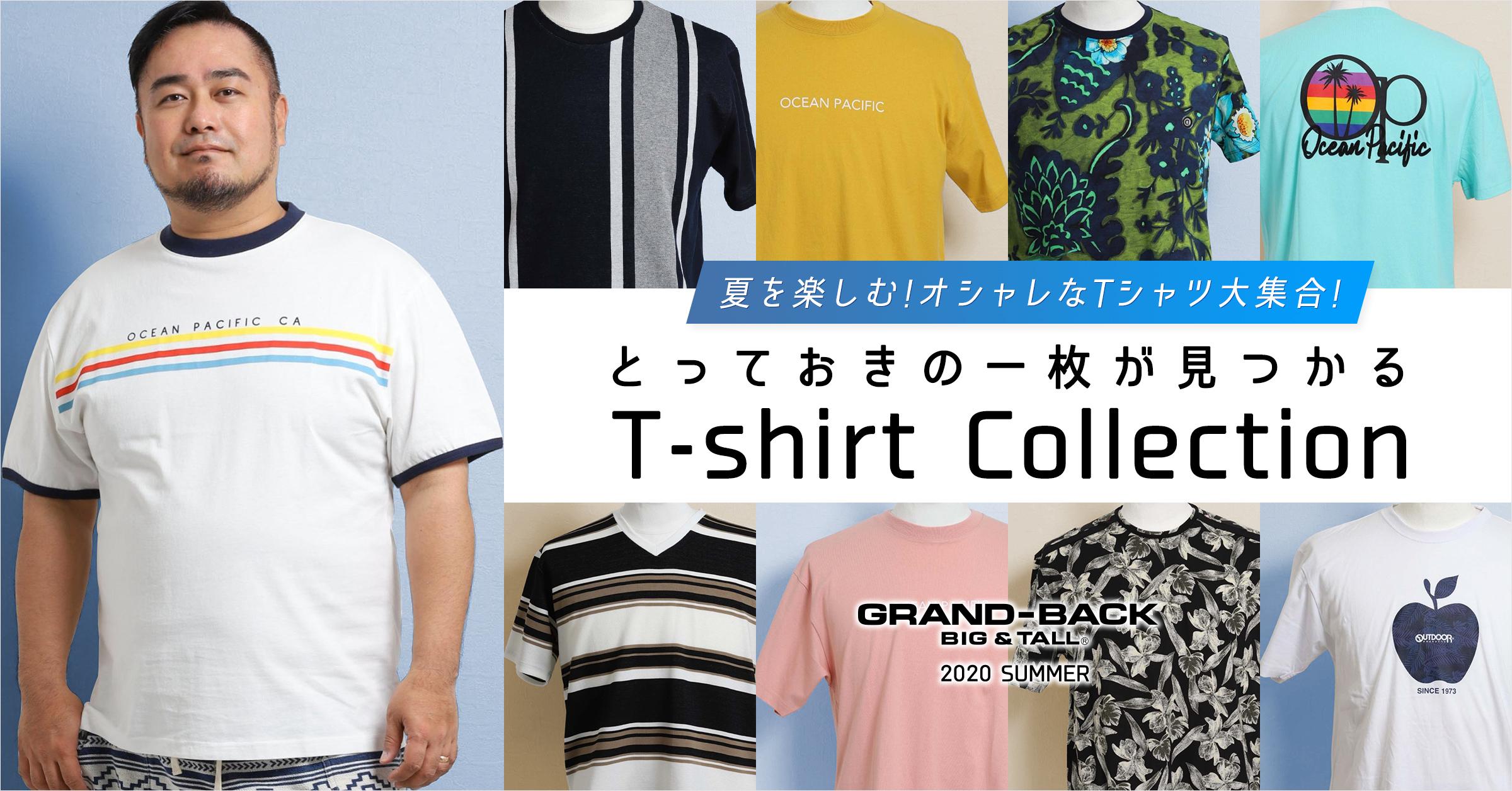 とっておきの1枚が見つかる Tシャツコレクション