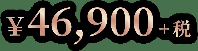 ¥46,900+税