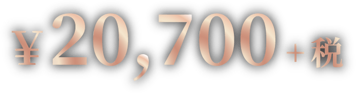 ¥20,700